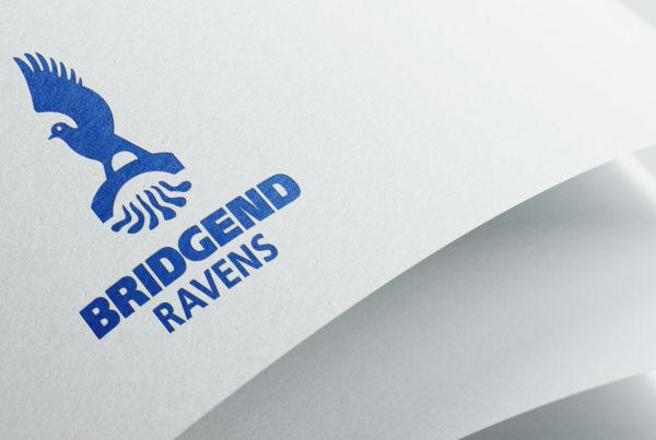 Bridgend Ravens Branding