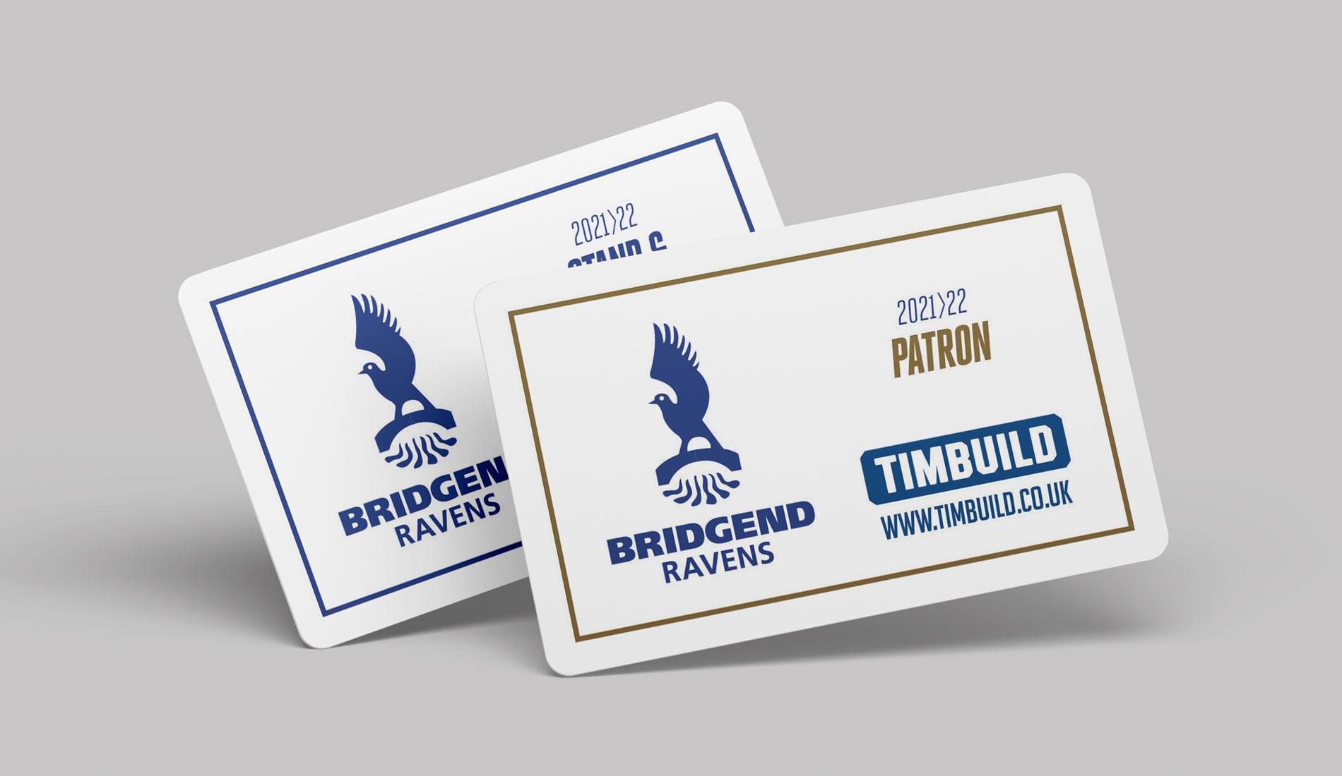 Bridgend Ravens Membership Cards
