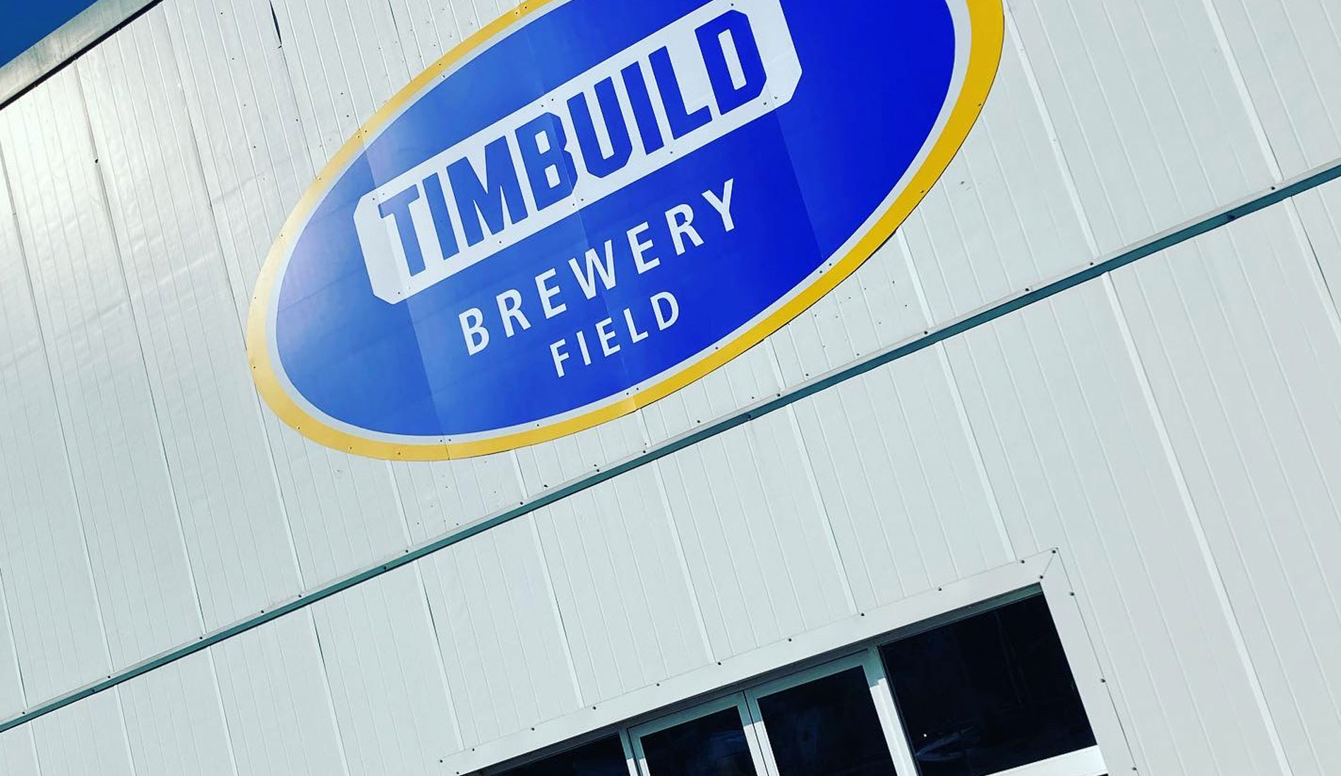 Timbuild Brewery Field Stadium Branding