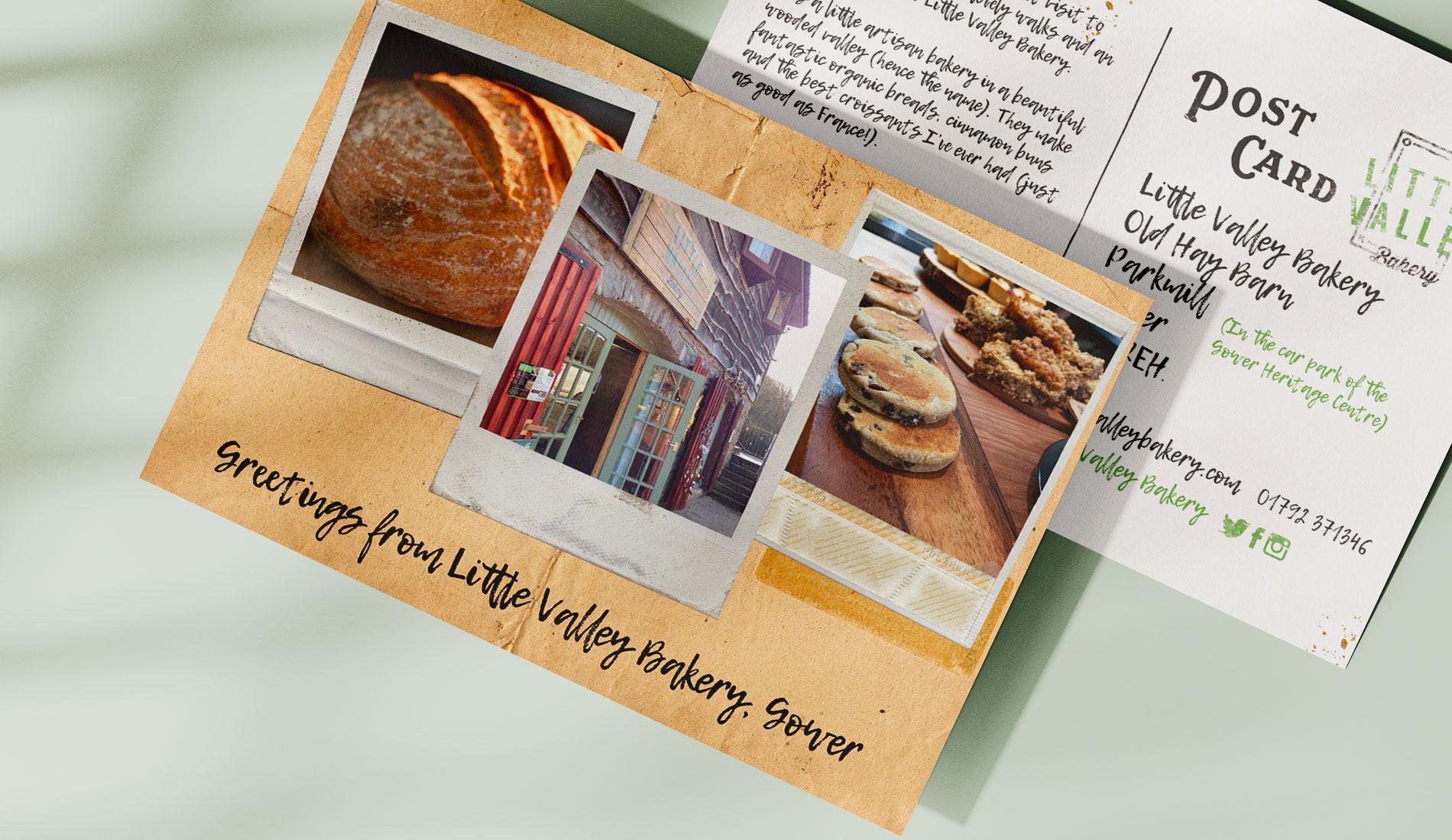 Little Valley Bakery Print Design