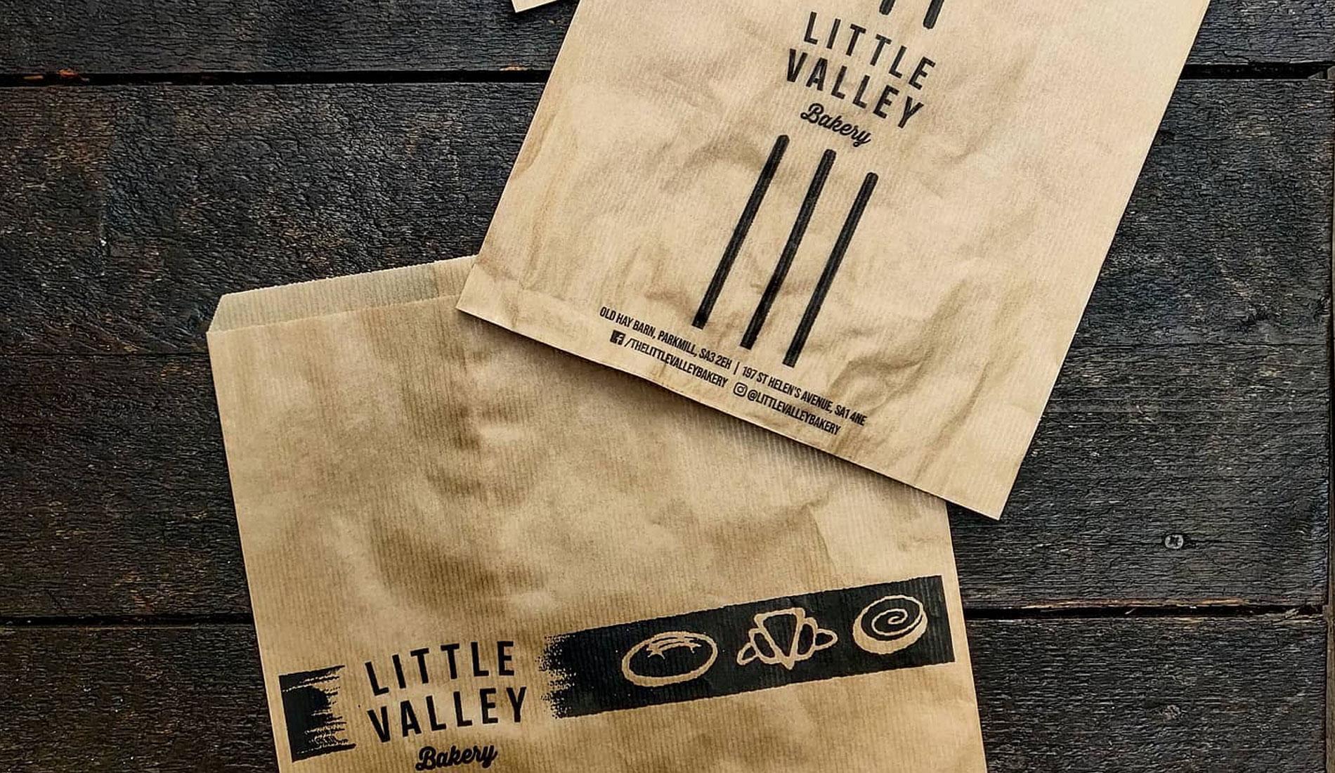 Little Valley Bakery Branding