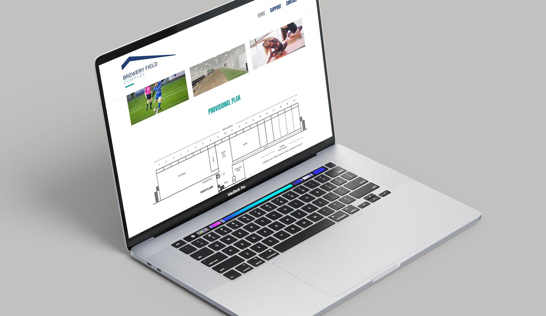 Brewery Field Complex Website Design