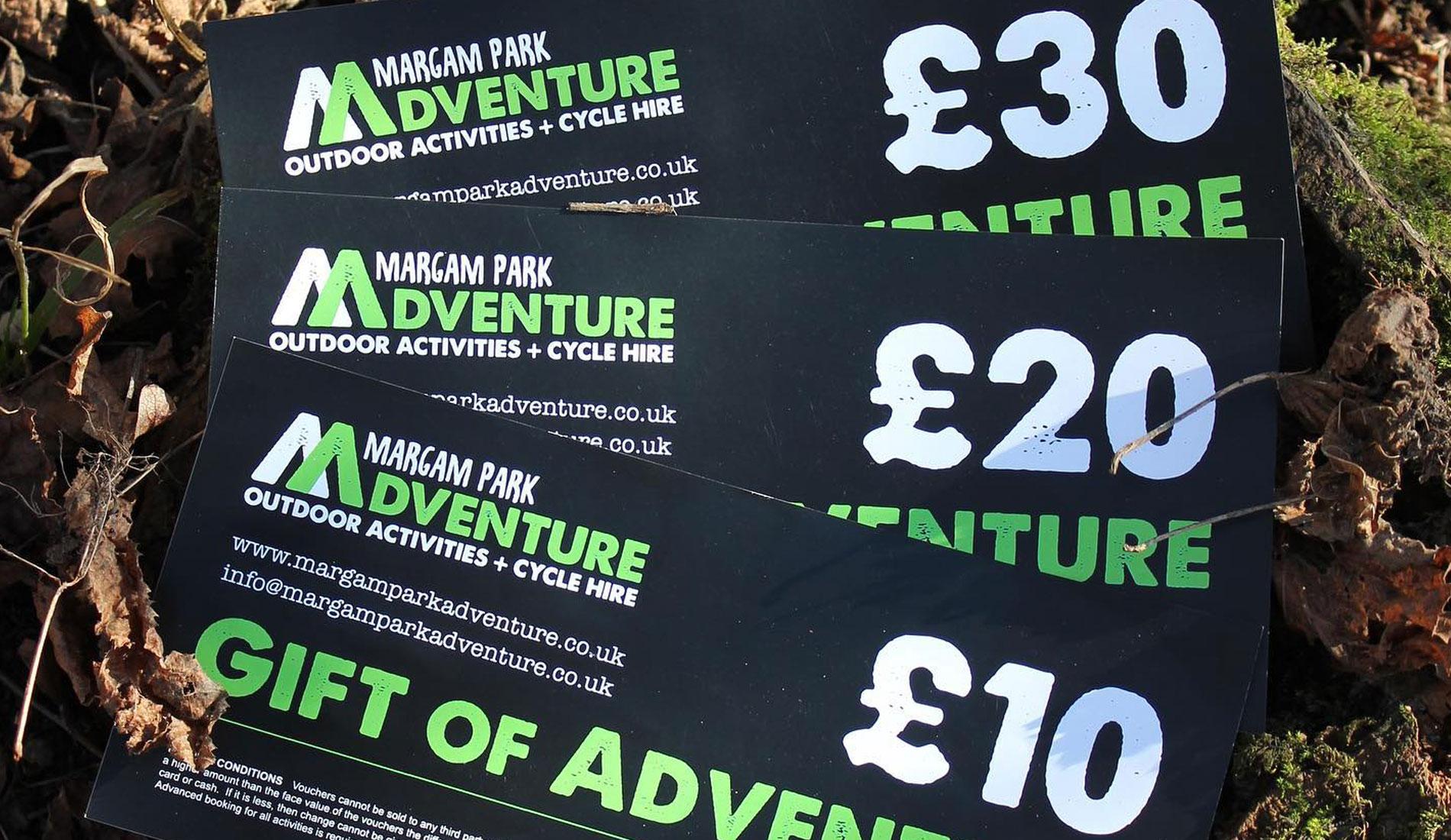 Margam Park Adventure Website Design